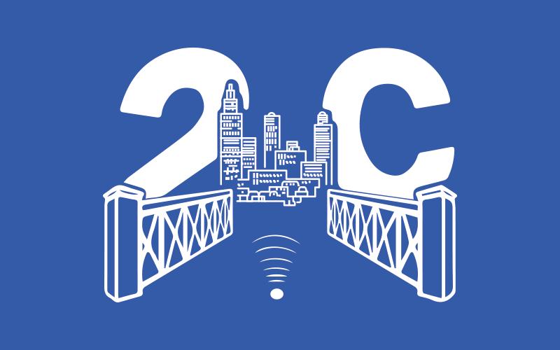 2C elettronic logo